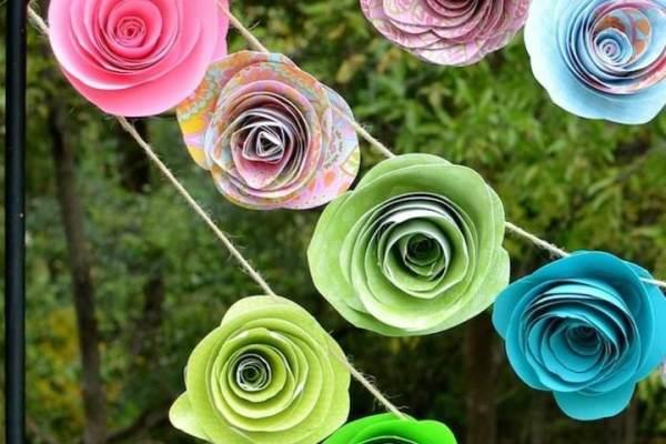 Flores De Papel Crepe Ideas Para Decoracion Diferente