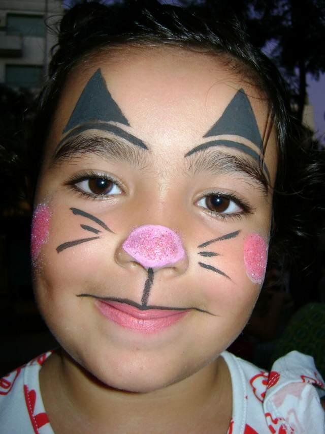 ideas maquillaje divertido niñas fiestas infantiles cumpleaños