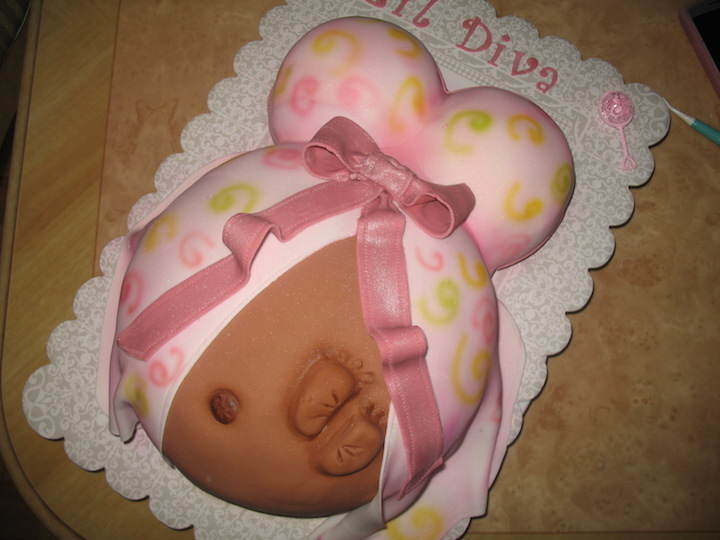 Increbles Y Creativos Pasteles Para Baby Shower