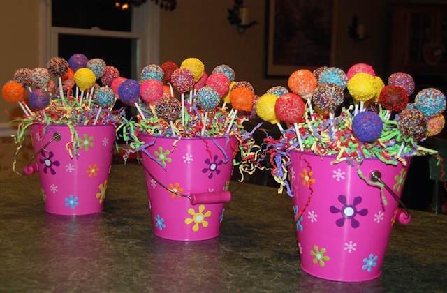 Ideas creativas para centros de mesa infantiles
