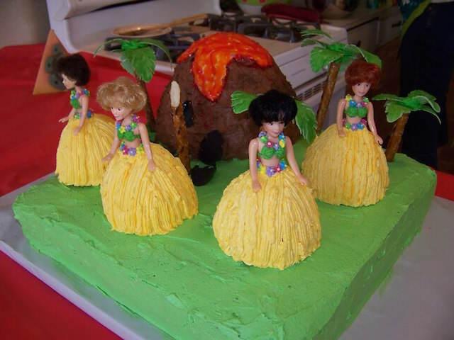 ideas para baby shower decoración Hawaii