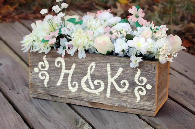 fascinantes centros de mesa para boda estilo rústico