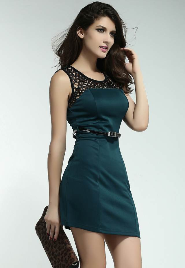 db0050d23 ... elegantes vestidos de noche ideas fiesta discoteca ...