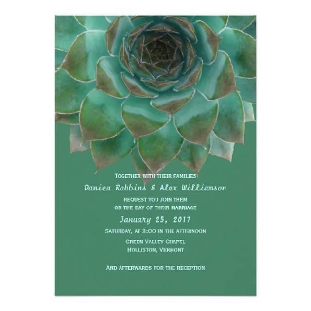 invitaciones de boda 2015 magnífico verde lucite