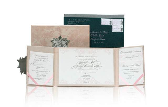 invitaciones de boda color moderno tendencias 2015 ideas