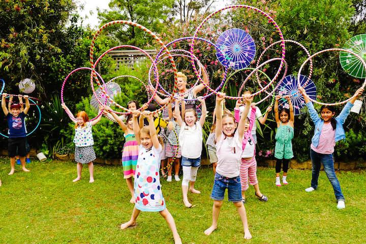 actividades activos aire libre fiestas infantiles