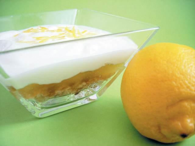 limón postre delicioso ideas fiesta