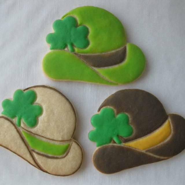 magníficas galletas chocolate decoración preciosa día San Patricio
