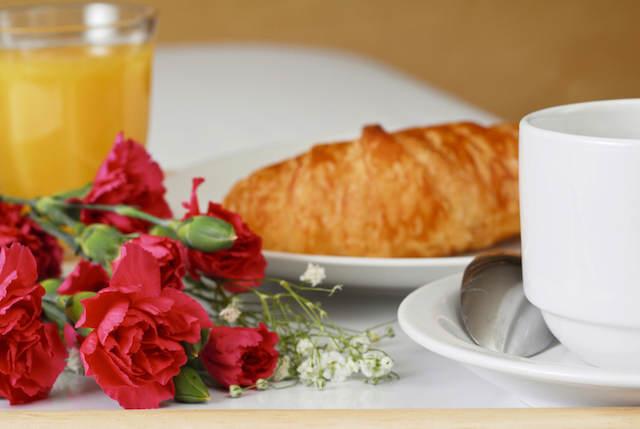 magnífico desayuno para día de la madre