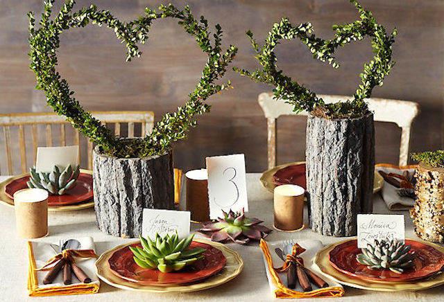 magníficos centros de mesa para boda