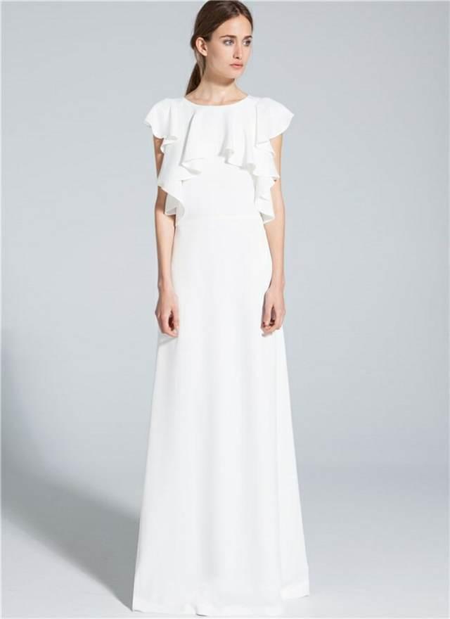 fantásticos vestidos de novia baratos ideas modernas