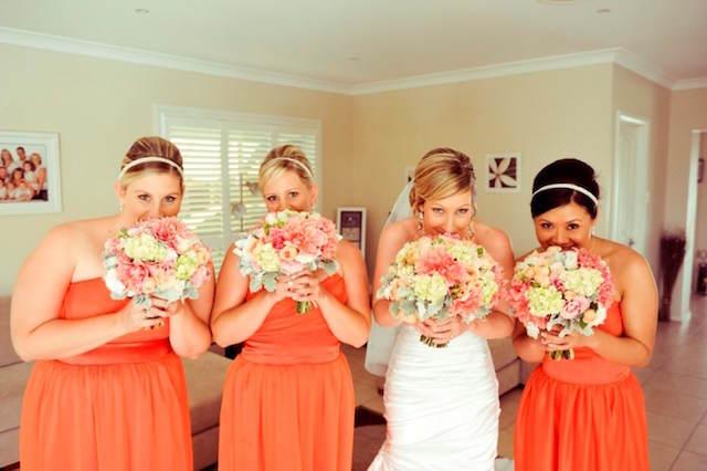 mandarina tendencias modernas boda 2015