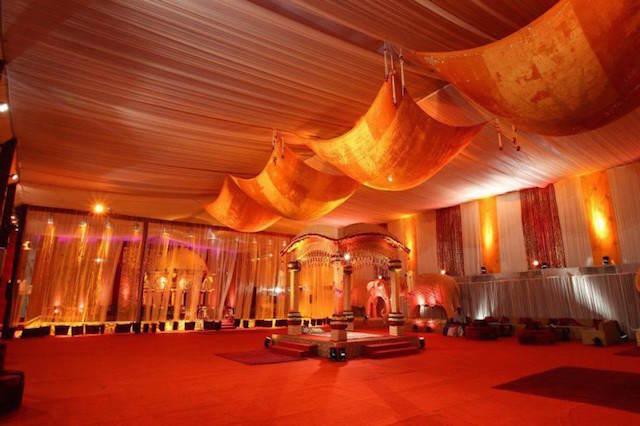 mandarina decoración boda 2015 estilo oriental