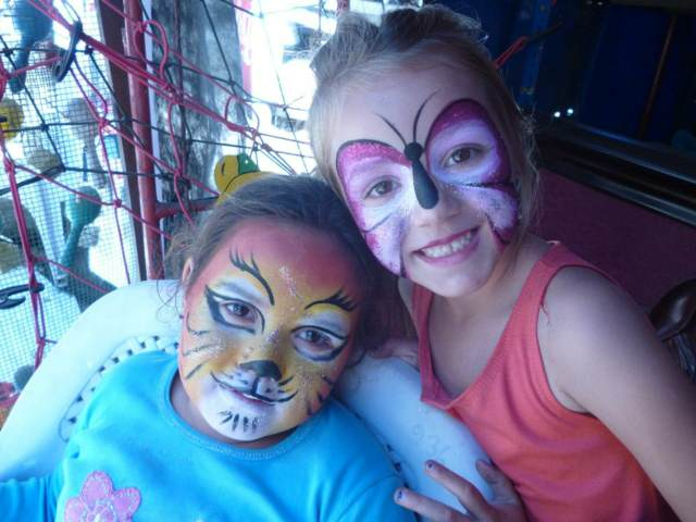 maquillaje infantil artístico cumpleaños divertidos iideas