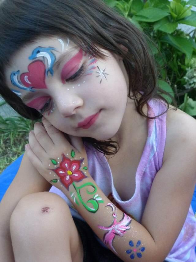 maquillaje artístico fiestas infantiles ideas originales