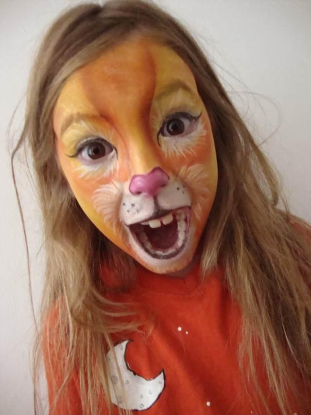 maquillaje temático divertido infantil ideas originales fiestas cumpleaños