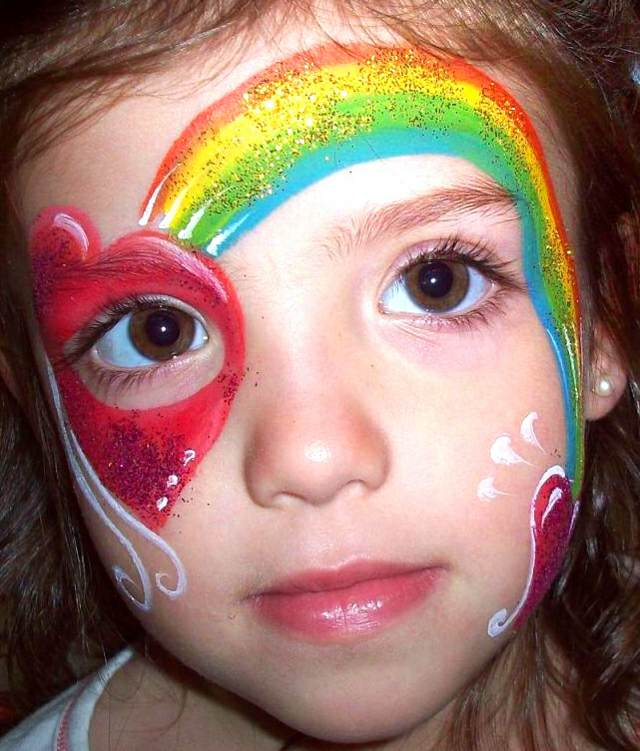 maquillaje precioso infantil fiestas divertidas ideas originales