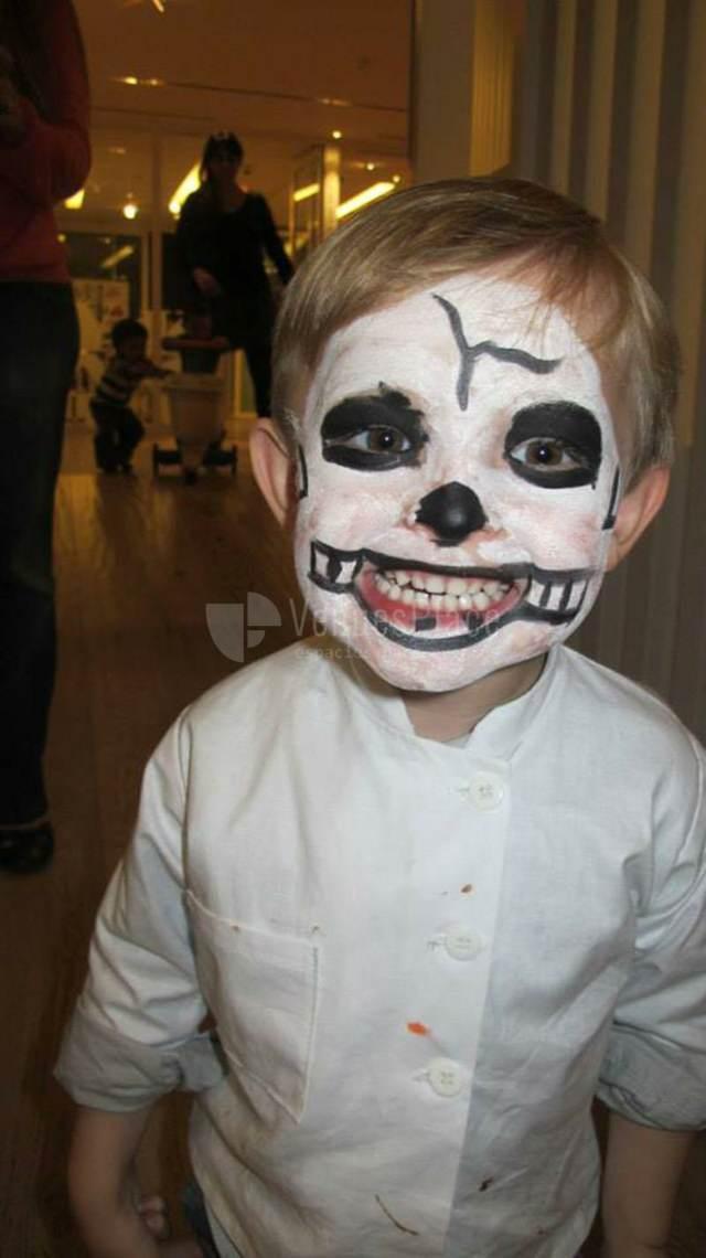 maquillaje infantil niño fiestas divertdas ideas