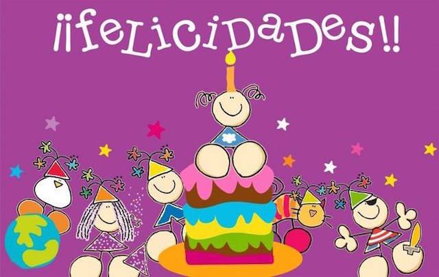 mensajes de cumpleaños felicidades celebración divertida