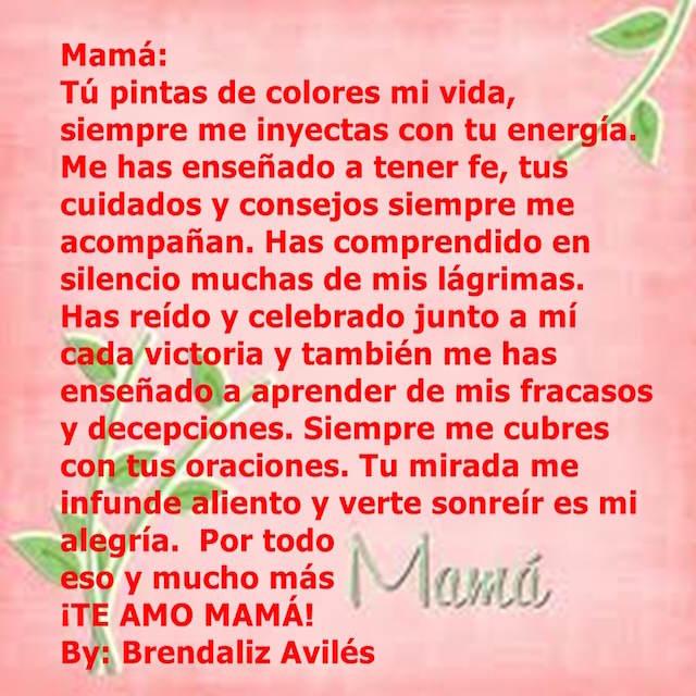 mensajes de cumpleaños para mamá querida