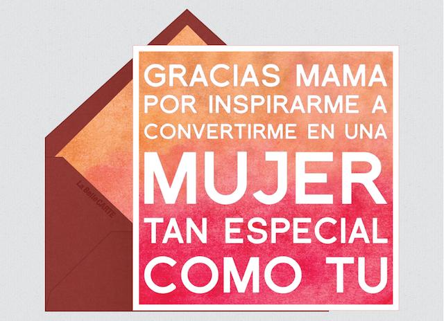 mensajes gracias mama por inspirarme mujer