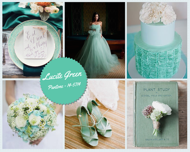 Verde lucite decoraci n e invitaciones de boda 2015 for Decoracion e