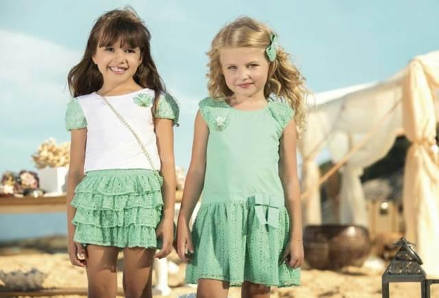 moda preciosas infantil colores magníficos tendencias