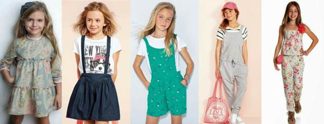 moda niñas ideas diferentes tendencias modernas originales