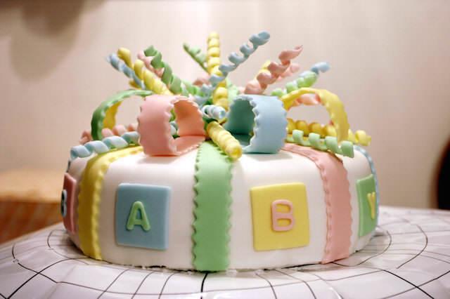pintados pasteles para baby shower ideas