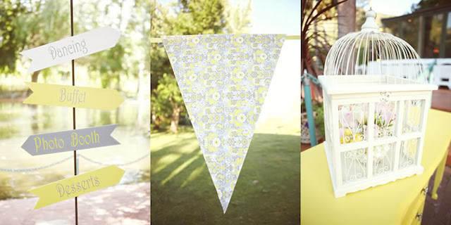natilla combinación gris glaciar decoración boda 2015