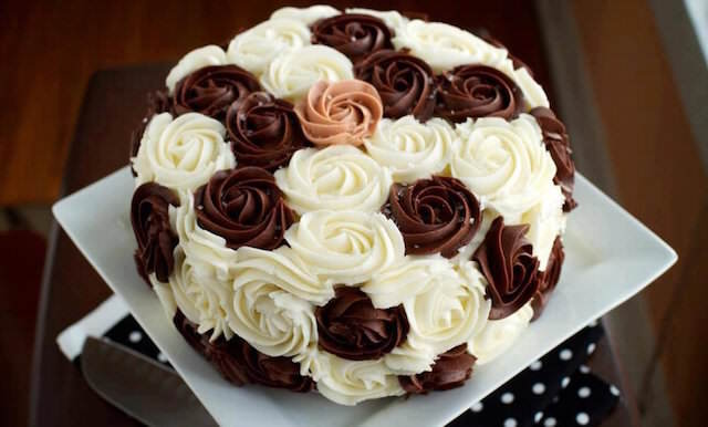 pastel de boda no tradicional tarta tres chocolates