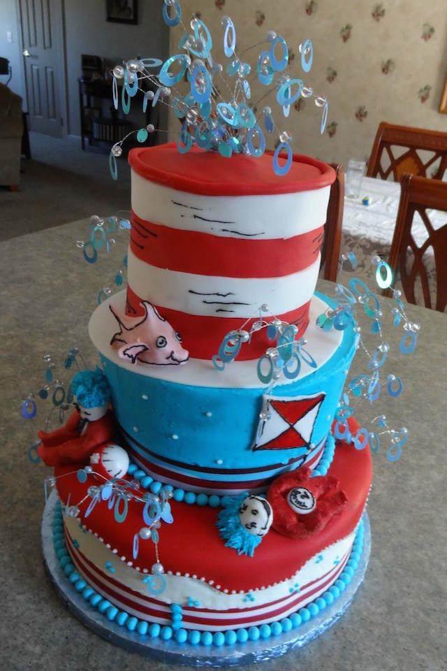 pastel para cumpleaños tema mar