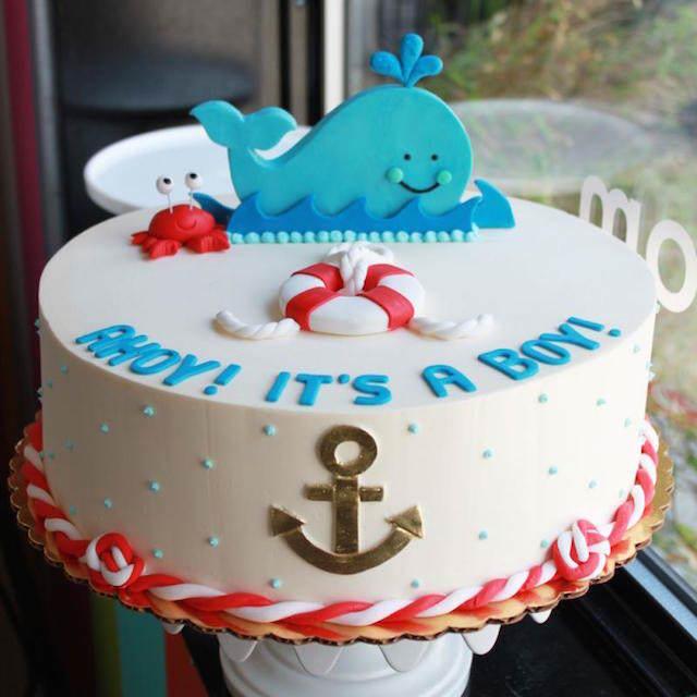 Torta Estilo Nautico Imagui