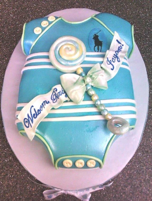 pasteles para baby shower decoración linda