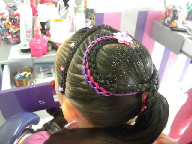 preciosos peinados infantiles ideas locas fiesta cumpleaños