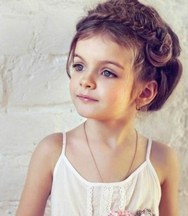 peinados infantiles ideas preciosas tendencias modernas