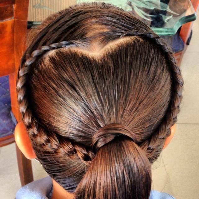 peinados infantiles tendencias modernas ideas originales