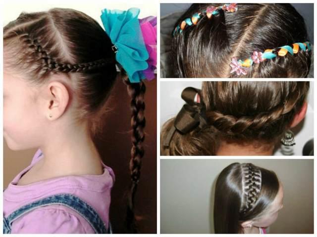 ideas originales peinados preciosos niñas fiestas