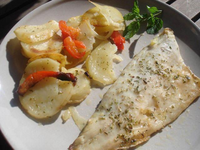pescado al horno comidas sanas sabrosas