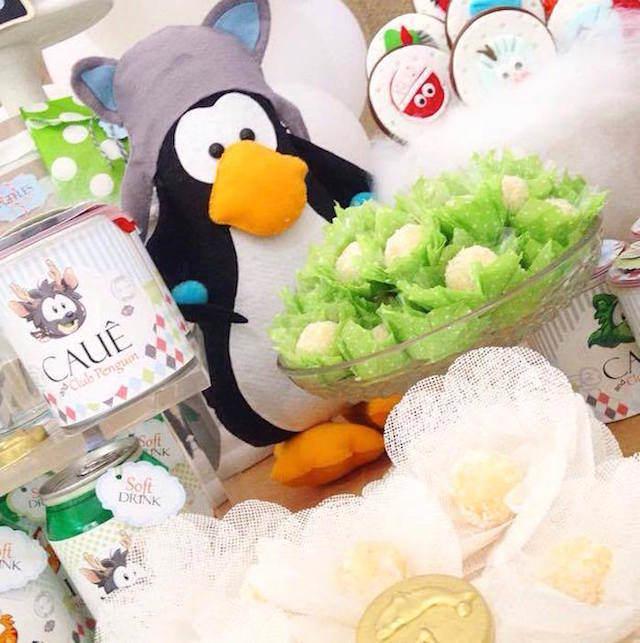 pingüinos fantástico tema cumpleaños infantiles