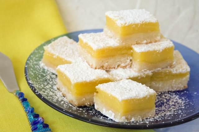 postre delicioso limón ideas sabrosas fiesta
