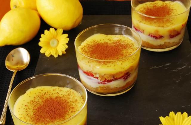 postre delicioso limón receta sabrosa fiesta