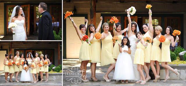 preciosa boda colores modernos decoración 2015 mandarina