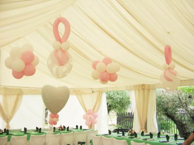 preciosa decoración temática globos ideas originales boda