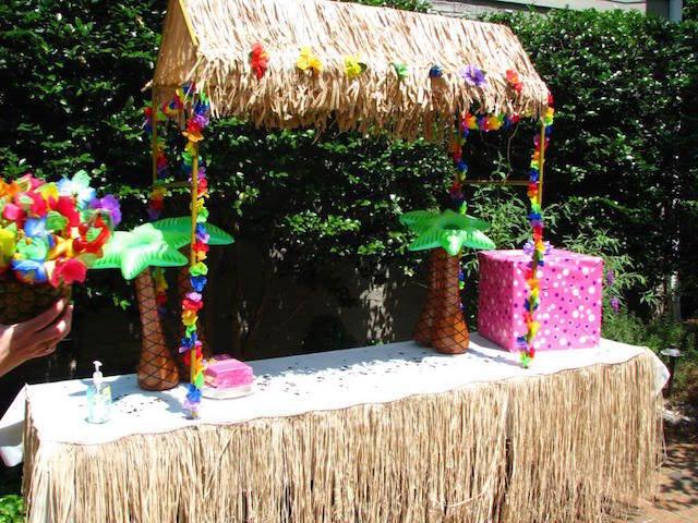precioso estilo hawaiano ideas para baby shower niña