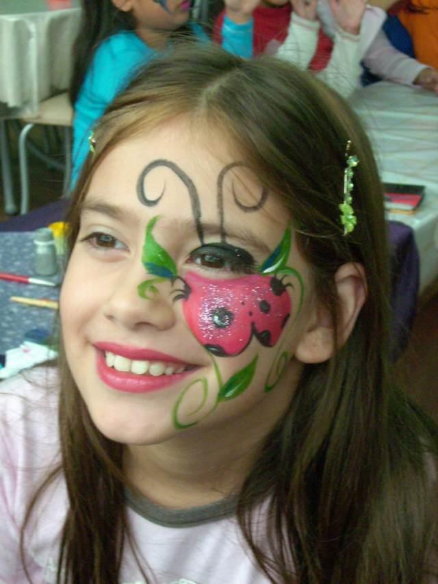 interesante maquillaje infantil fiestas divertidas cumpleaños