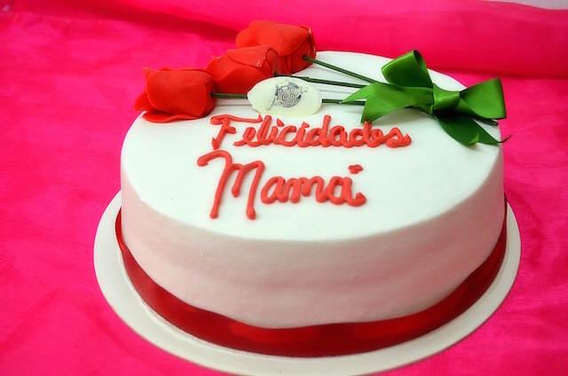 precioso pastel agradecimientos para mamá