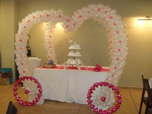preciosos arreglos de globos ideas preciosas boda fantástica