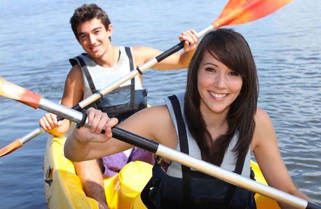 rafting aniversario de novios increíble
