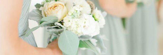 ramo de flores color verde lucite 2015